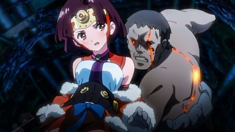 best action anime Kabaneri of the Iron Fortress