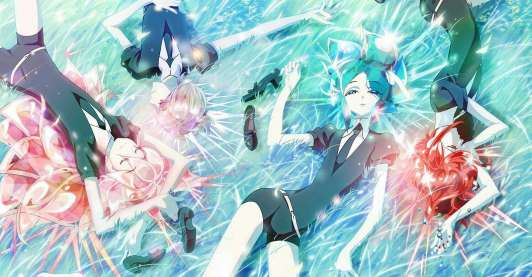 top 10 action anime Land of the Lustrous
