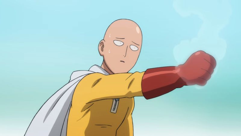 top action romance anime One Punch Man