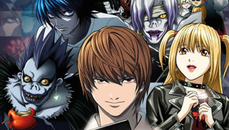 Death Note 2006–2007 horror anime movies