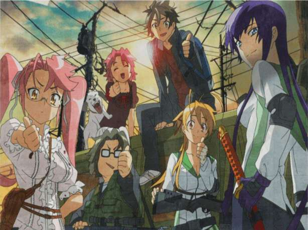 High School of the Dead best anime horror movies