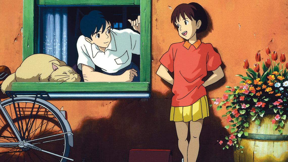 Whisper of the Heart - Japanese romance movies